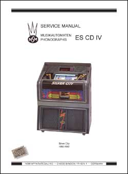 Service Manual CD Silver City