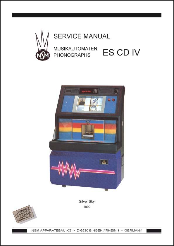 Service Manual CD Silver Sky