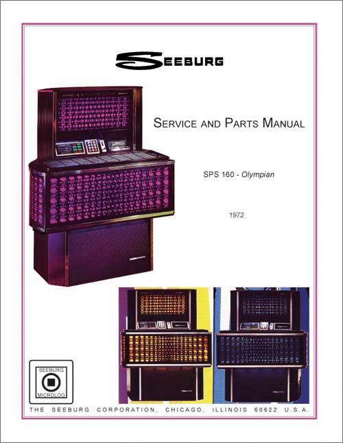 Service Manual Seeburg SPS160
