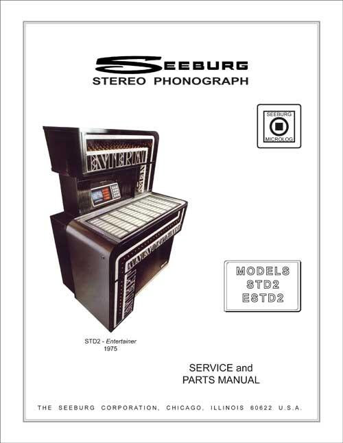 Service Manual Seeburg STD2