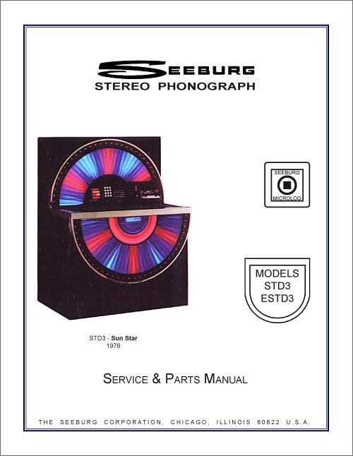 Service Manual Seeburg STD3