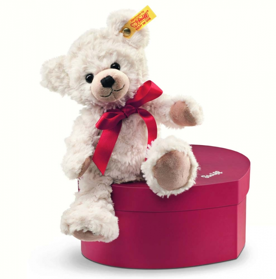 Sweetheart Teddy Bear with heart box