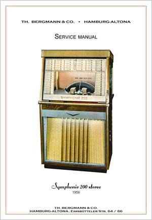 Service Manual Bergmann S200 Stereo, English
