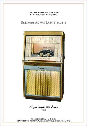 Service Manual Bergmann S200 Stereo, German