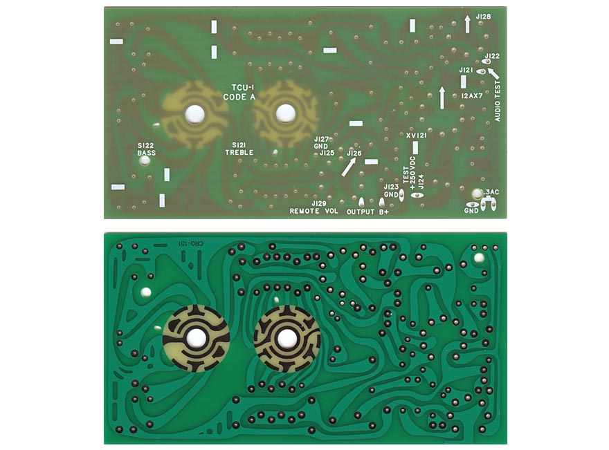 Circuit board TCU-1