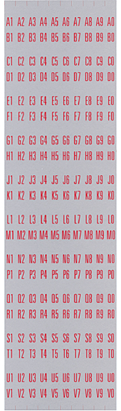 Aufkleber für Titelhalter 1495/1497