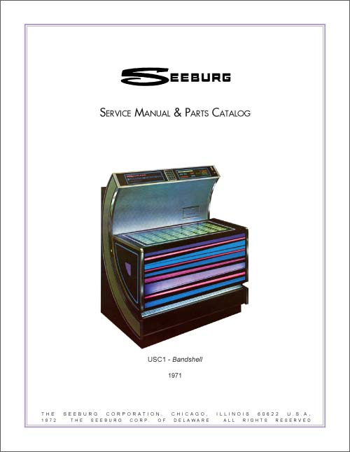 Service Manual Seeburg USC1