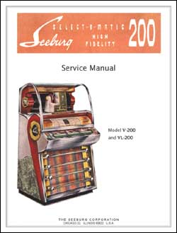 Service Manual Seeburg V200, VL200, English