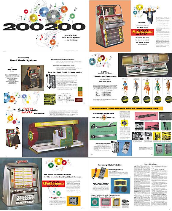 Brochure Seeburg V200