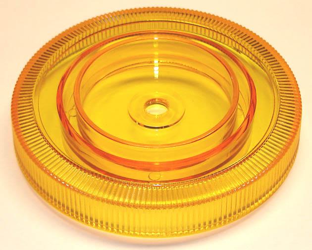 Selector wheel, yellow