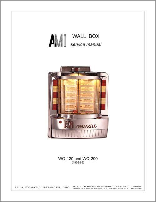 Service Manual AMI WQ120/200