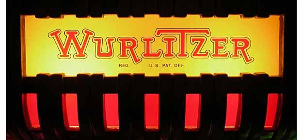 "Name plate ""Wurlitzer"""
