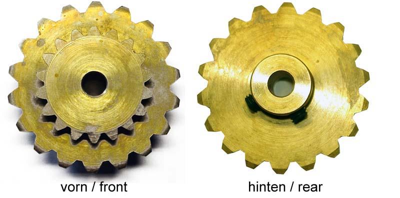 Double gear M100C