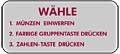 "Decal ""Wähle"""