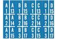 Decals for title strip holder W2304, 2404