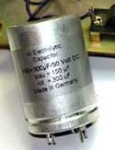 Can capacitor 150+300 µF