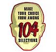"Decal ""104 Selections"""