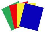 Colour foils, translucent, set