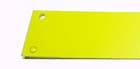 Plastic light diffuser, yellow