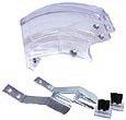 Plattenschutzhaube - transparent, komplett