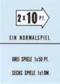 Pricing cards 201 and 161 - German