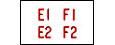 Programmglas E1-F0