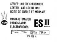 Schaltpläne NSM ES III