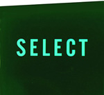 """Coin glass """"SELECT"""""""