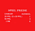 "Pricing card ""Spiel Preise"", orange"