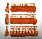 Push button set KD, KS