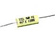 0,0047 µF high voltage capacitor, axial