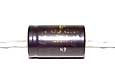 100 µF high voltage electrolytic capacitor