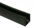 Gummi-U-Profil 4,7 x 7 x 6,5 - schwarz