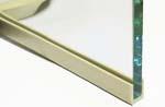 Rubber gasket, 5 x 8 x 10 - white