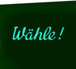 "Coin glass ""Wähle"""