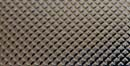Deko-Folie Waffelmuster, silber, 2 x 2 mm
