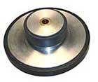 Zwischenrad im Plattentellerantrieb, 78 rpm