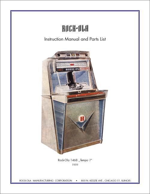stamann musikboxen jukebox world service manual 1468 or 1475 rh jukebox world de Rock Ola Nostalgic Bubbler 1960 Rock Ola 1428 Jukebox