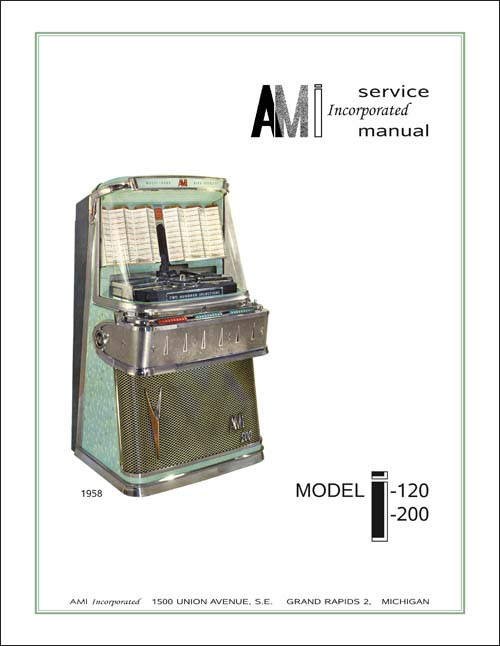 AMI Model I Jukebox Service Manual