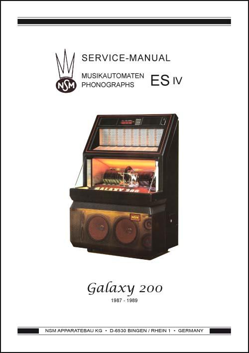 Stamann Musikboxen Amp Jukebox World Service Manual Galaxy