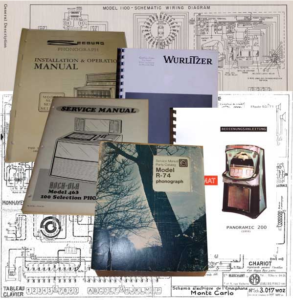 Stamann Musikboxen & Jukebox-World | Service Manuals and Schematics ...