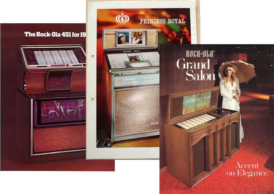 Stamann Musikboxen & Jukebox-World | Rock-Ola Broschüre ...
