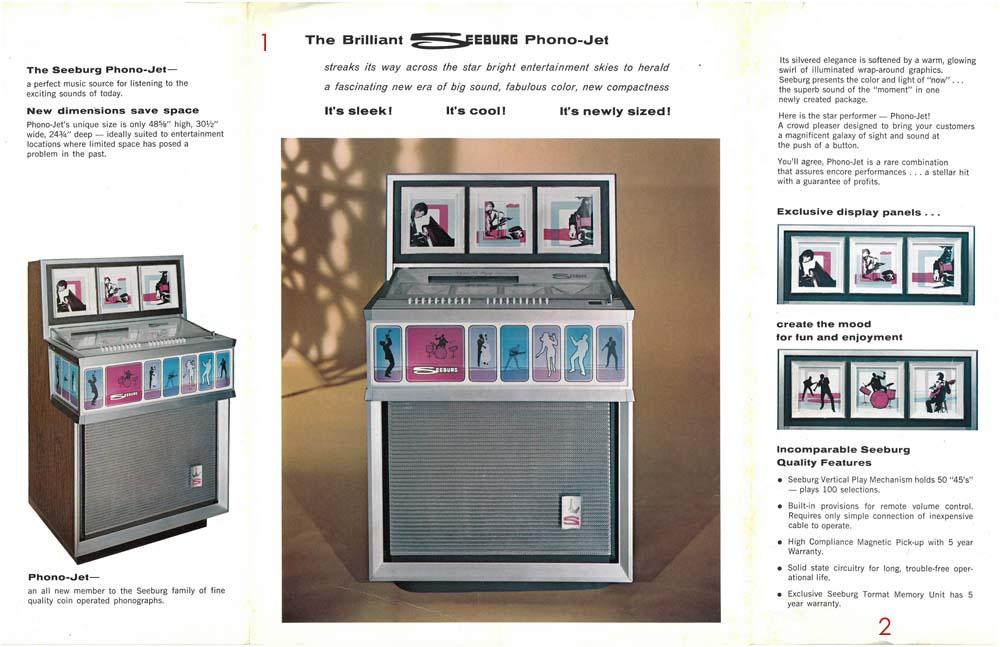 stamann musikboxen jukebox world brosch re seeburg. Black Bedroom Furniture Sets. Home Design Ideas