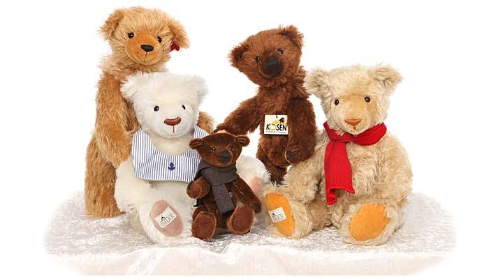 Teddy Teddys Kösen Stofftier Puppe Plüsch Kösener Teddies