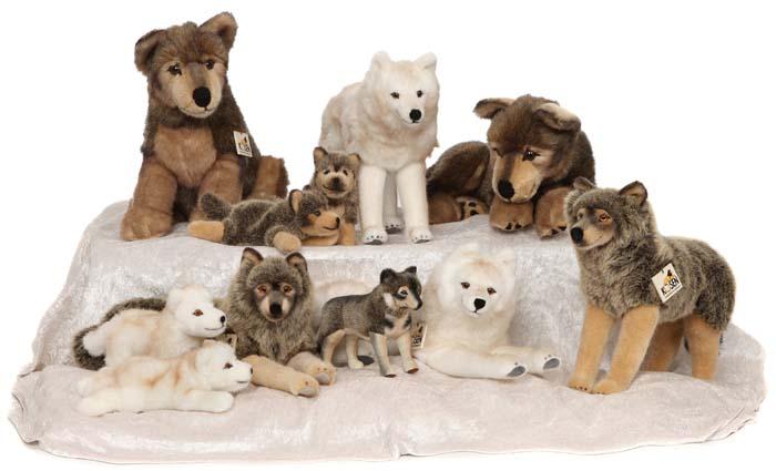 Kösen Plüschtier Wolf Stofftier Wölfe